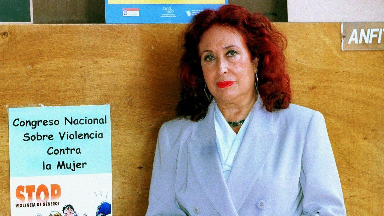 Lidia Falcón en una imagen de archivo
