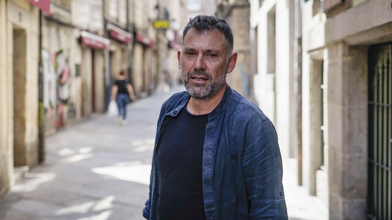 Enrique Fidalgo, presidente de los hosteleros del casco viejo