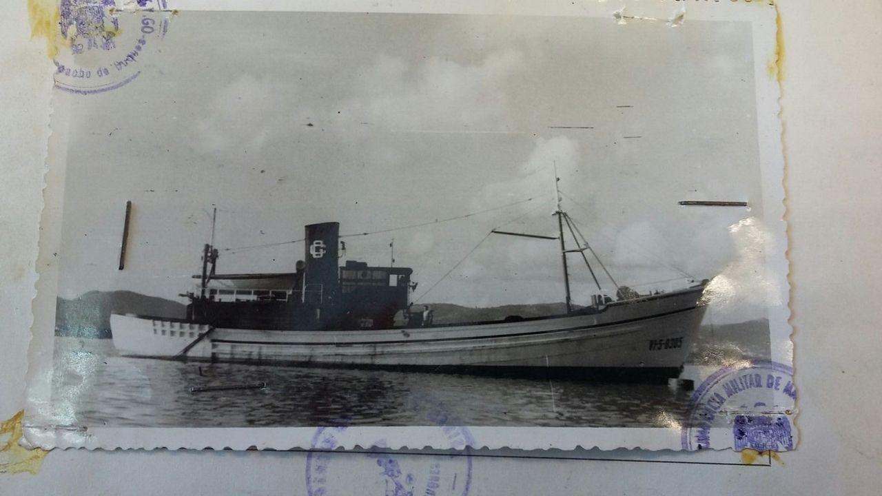Cordero González: Era un pesquero de madera construido en Domaio, Moaña, en 1961, con 28 metros de eslora. Se hundió el 30 de agosto de 1975