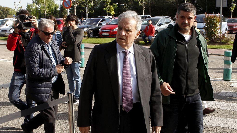 Enrique Múgica, exdefensor del Pueblo y figura histórica del PSOE