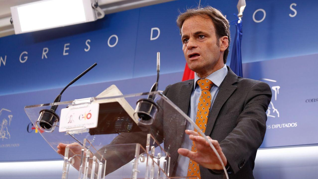 En directo: Comparece el presidente del CIS, José Félix Tezanos.El diputado de En Comú Podem en el Congreso, Jaume Asens