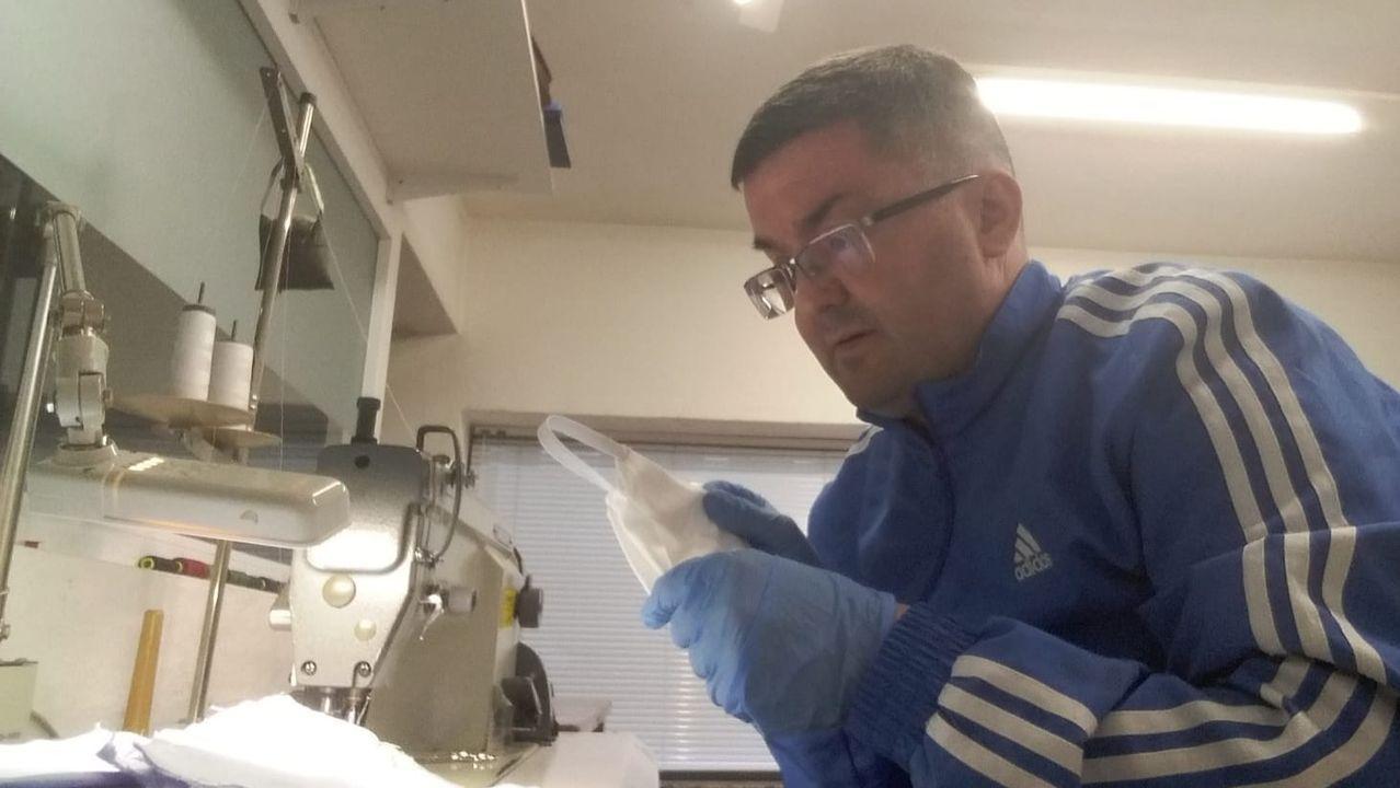 El alcalde de Ourense, Gonzalo Pérez Jácome, opina sobre la evolución del coronavirus