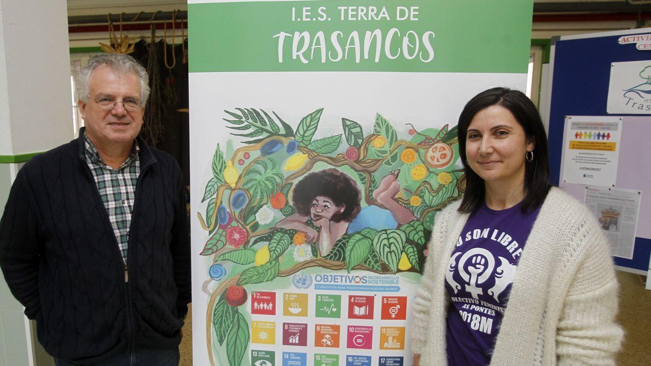 Ourense celebra la Constitución.Jéssica Fernández y Manuel Rivera, coordinadores del proyecto