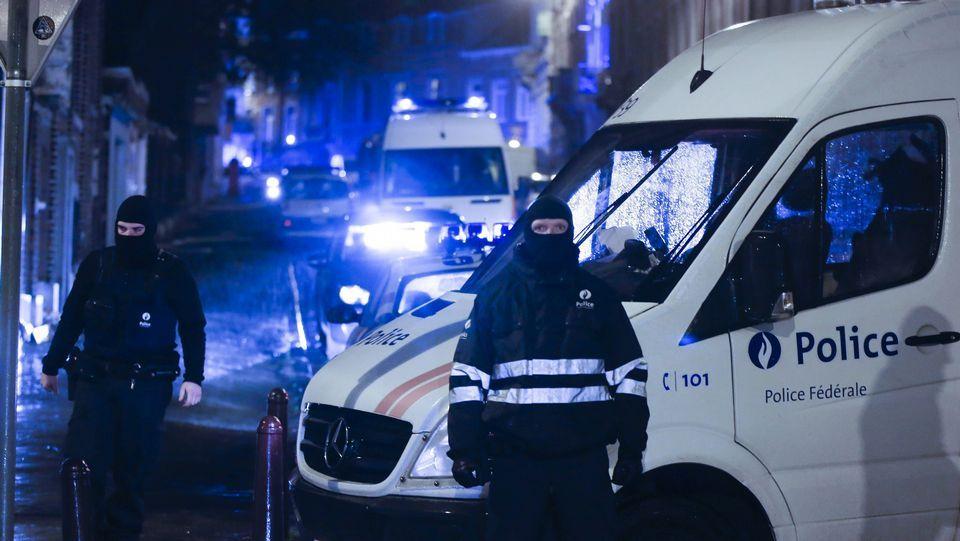 Operación a gran escala contra el terrorismo islamista en Bélgica