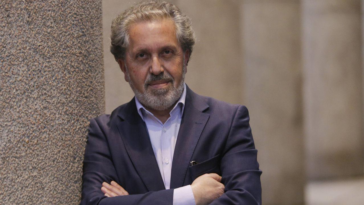 Xoel López actuó en la presentación de la campaña turística de Galicia