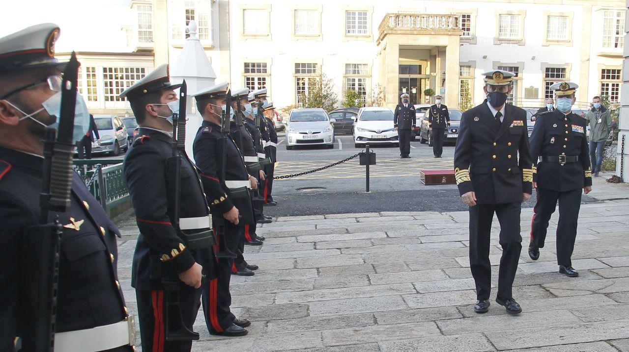 Antonio Martorell fue recibido por el general de la Fupro en las dependencias de Capitanía