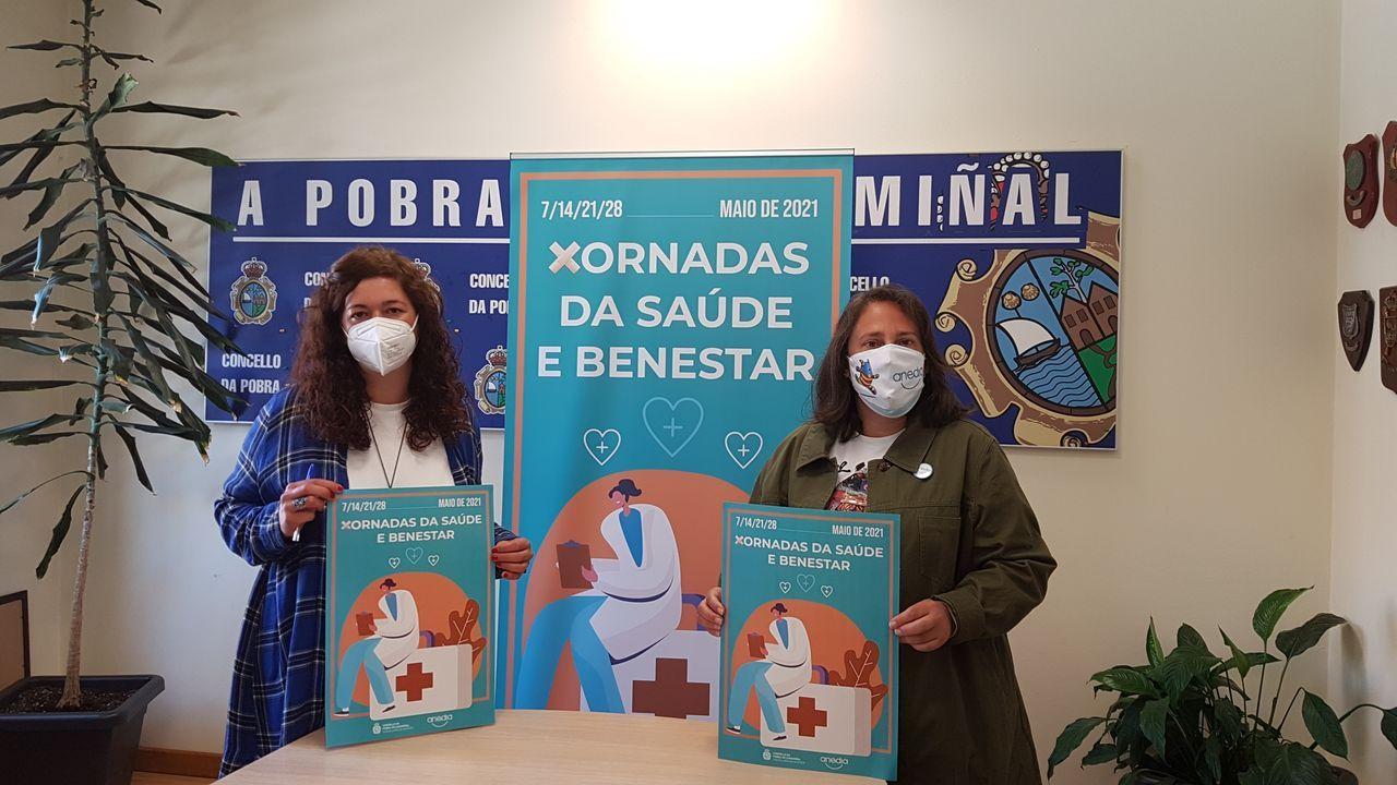 La edila Patricia Lojo y la presidenta de Anedia, María José Rego, presentaron las jornadas