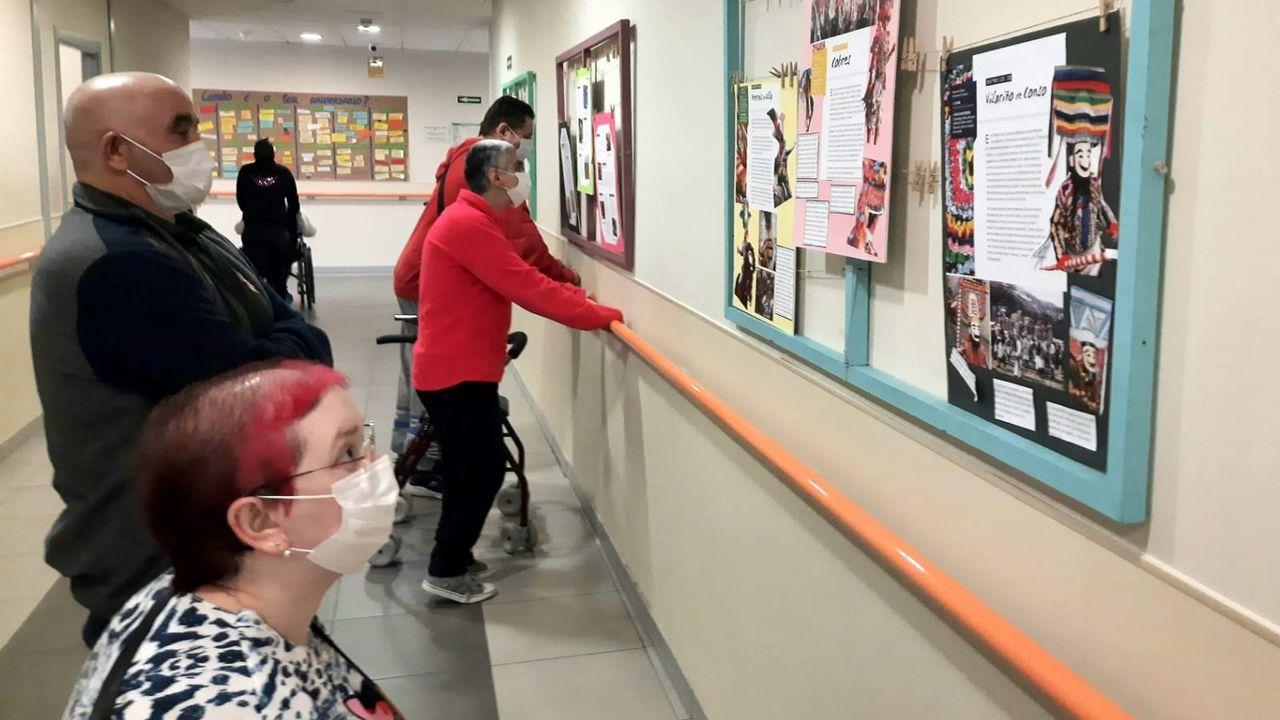 La exposición pude verse de lunes a viernes en la residencia para personas con diversidad funcional