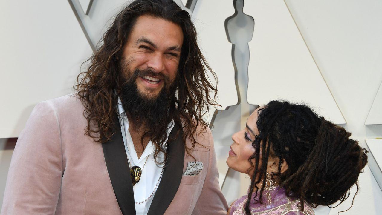 Jason Momoa y su mujer, la actriz Lisa Bonet