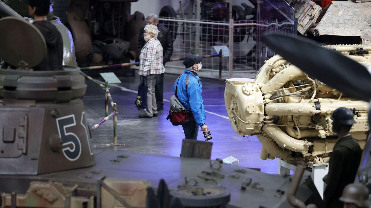 El Museo técnico de Sinsheim, en Alemania, ha reabierto sus puertas. Los visitantes acuden con mascarilla
