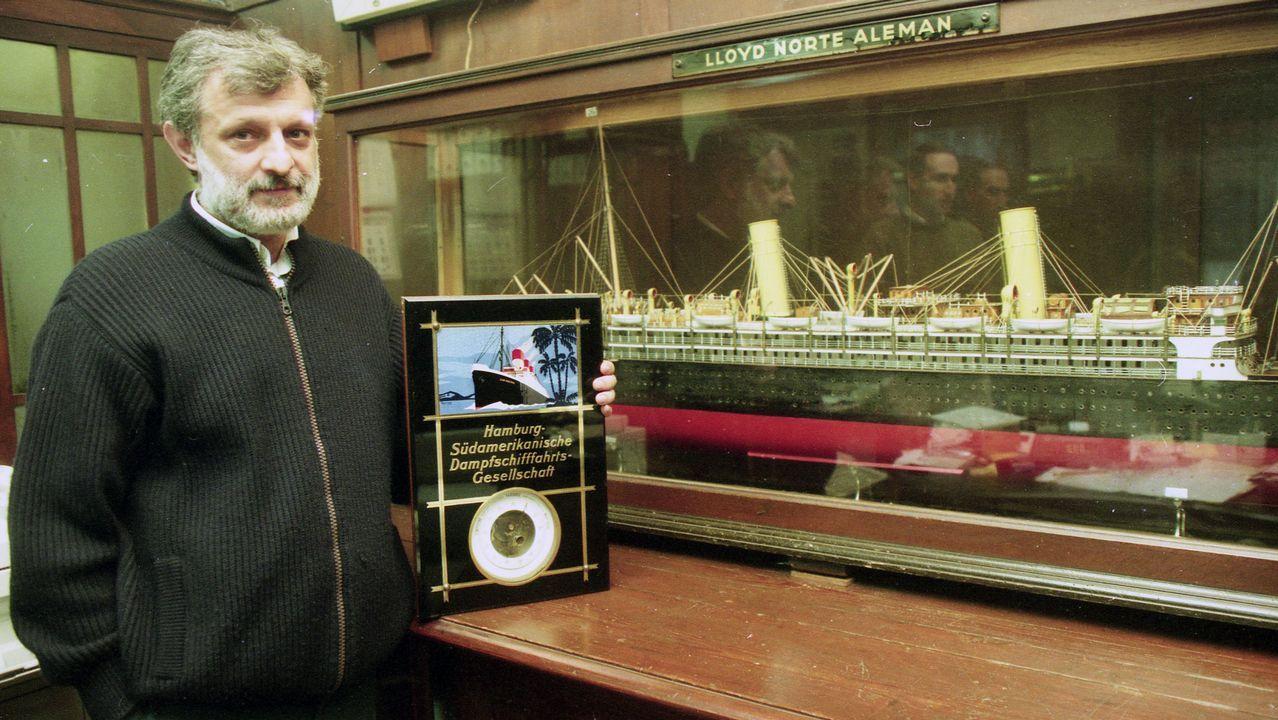 Inauguran una exposición minera de A Silvarosa en Vieiro.Nemes ganó el Óscar y el Globo de Oro por su primer filme, «El hijo de Saúl»