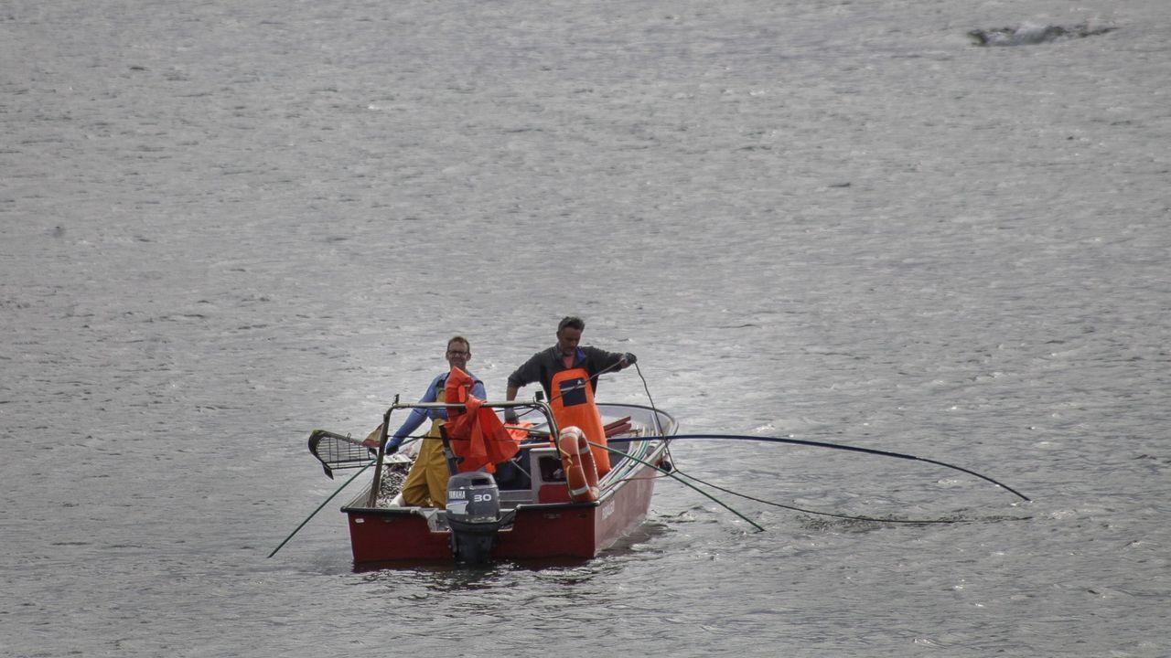 Marisol di que as mariscadoras subiron a taxa de ostra de 80 a 200 quilos diarios para gañar algo máis