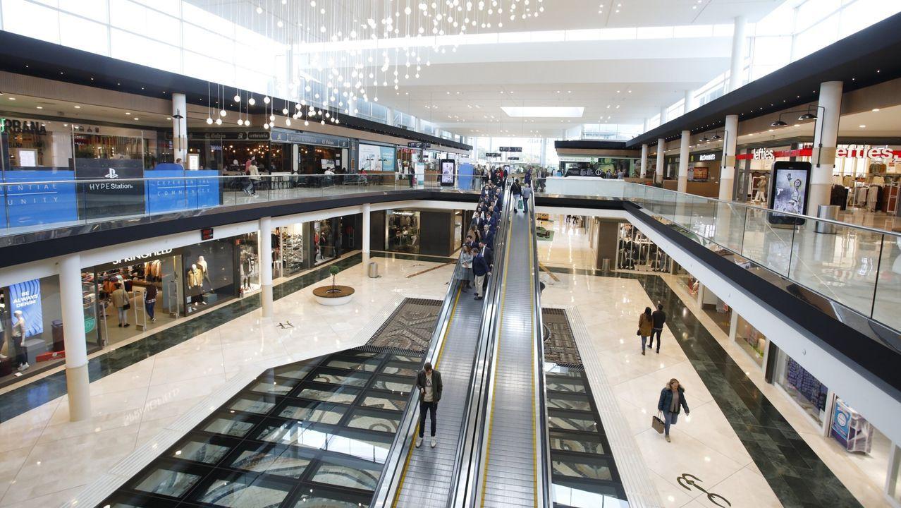 El pasado octubre se inauguró la reforma del centro comercial de Lugo