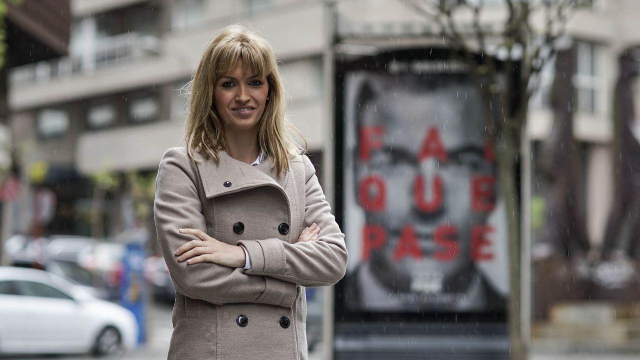 Marina Ortega, número 1 del PSdeG por Ourense. Nacida el 22 de enero de 1983.Fue diputada del Congreso en dos legislaturas y concejal en Carballiño. Licenciada en Psicología.
