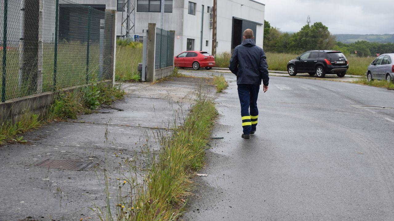 Las imágenes del deterioro del polígono industrial de Sarria