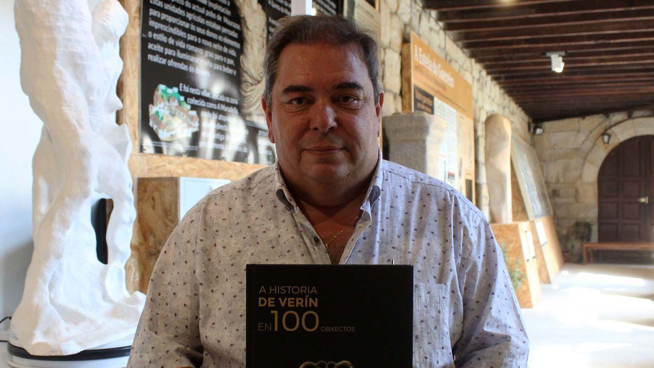 Recorrido por el Museo do Viño de Galicia.Una cata de vinos de Ribeira Sacra para los premios Gallaecia, en una imagen de archivo