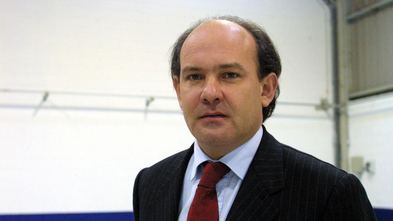 Rodríguez Iglesias, cuando era consejero delegado del grupo Nordés