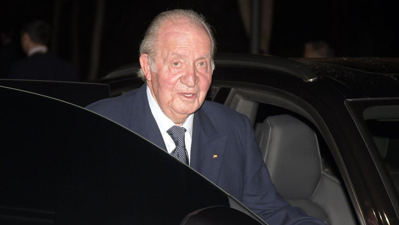 El rey emérito, Juan Carlos de Borbón