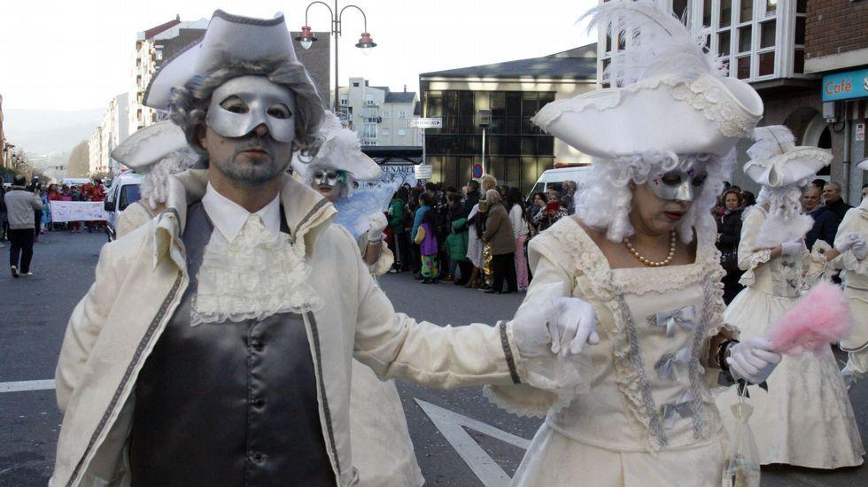 Miles de personas disfrutaron de una de las citas más famosas del entroido coruñés.