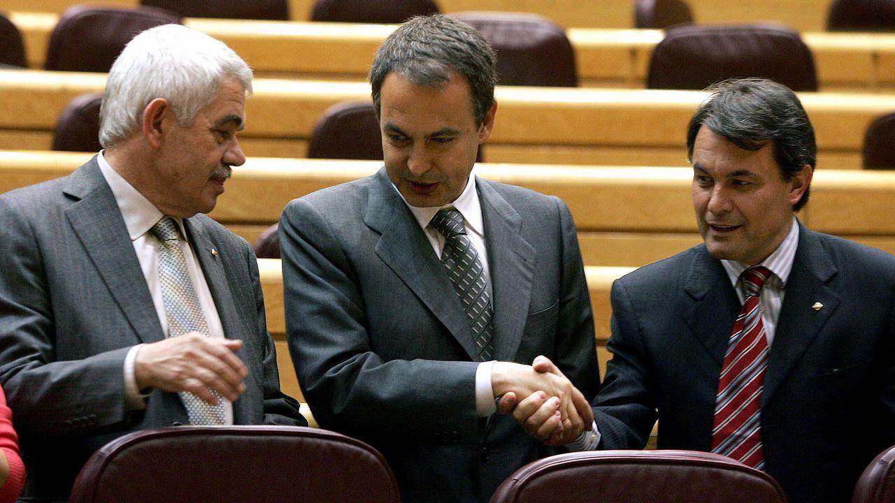 «No es posible apagar el tirón de Vigo, se lleva lo que sea por delante».El líder del PSC, Miquel Iceta
