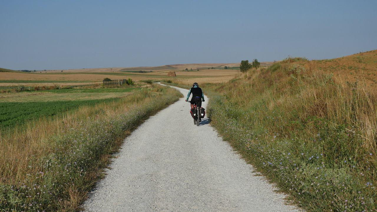 La etapa 9 sale de Terradillos de los Templarios y transcurre durante 45,9 kilómetros hasta Mansilla de las Mulas