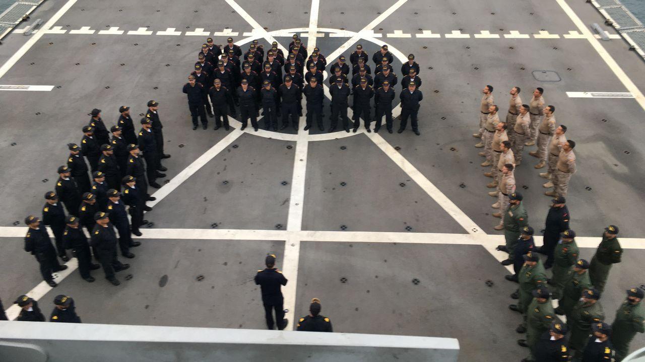 Dos unidades ferrolanas en un ejercicio histórico de la OTAN