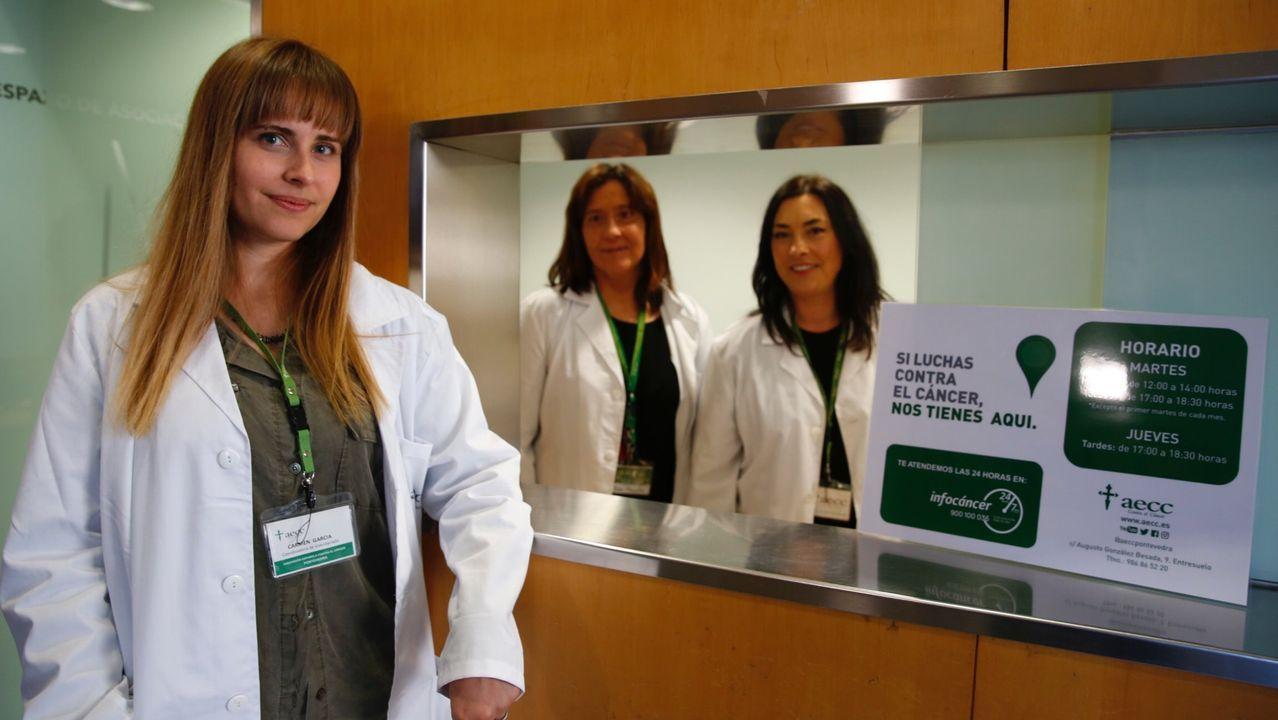 Raquel Canedo, médica residente