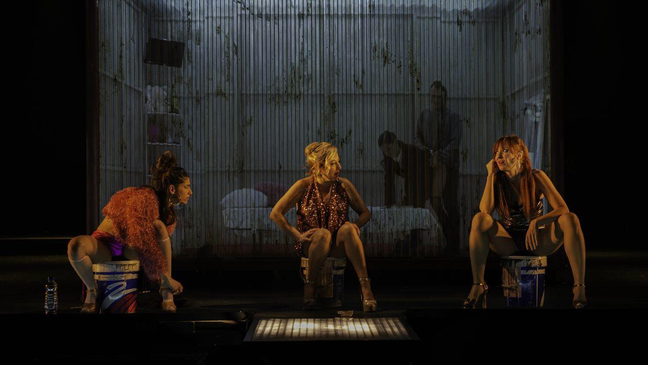 La obra «Prostitución» cerró el FIOT en pausa.Imagen de la obra «Prostitución»
