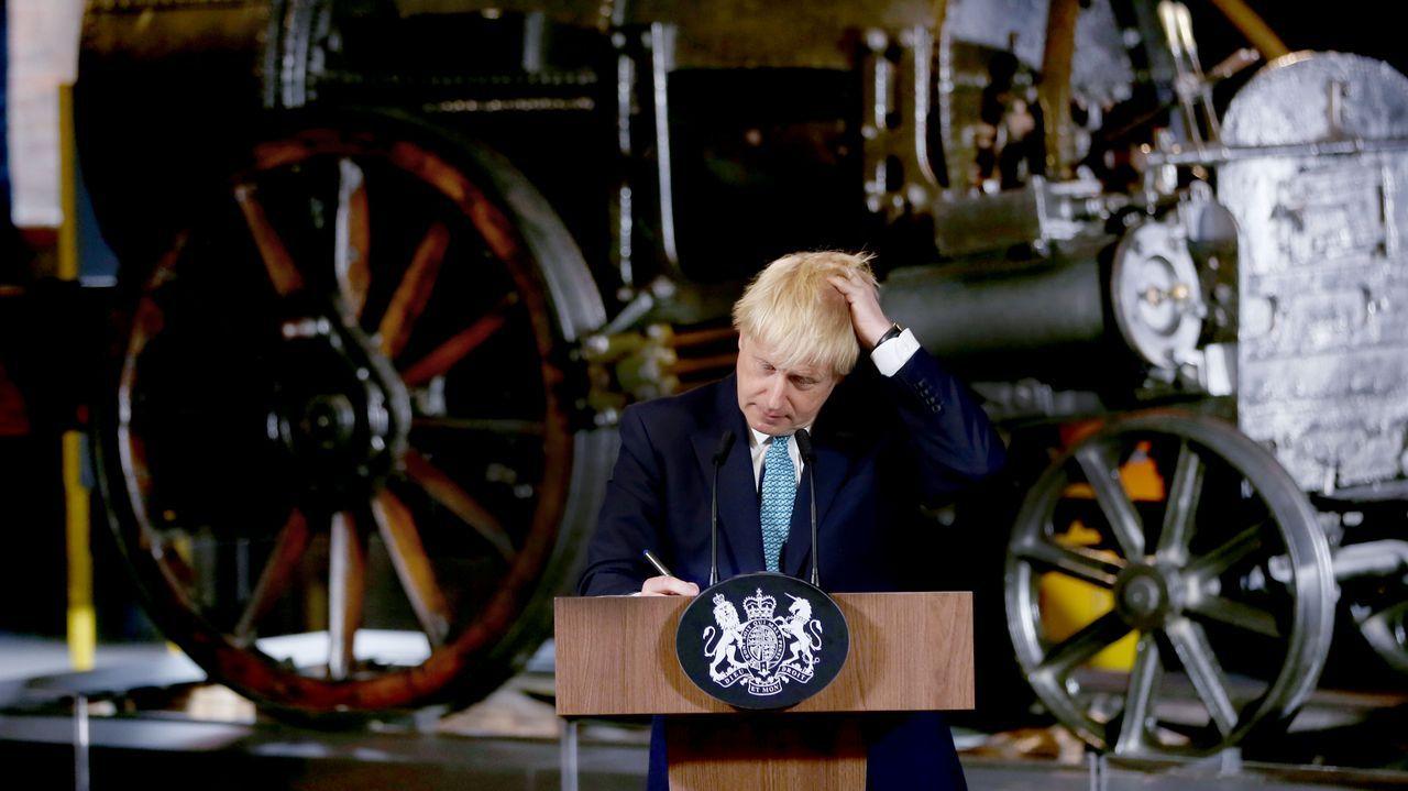 El primer ministro británico, Boris Johson, coincide con Trump en que la salida del Reino Unido de la UE es una gran oportunidad para un buen acuerdo entre sus dos países