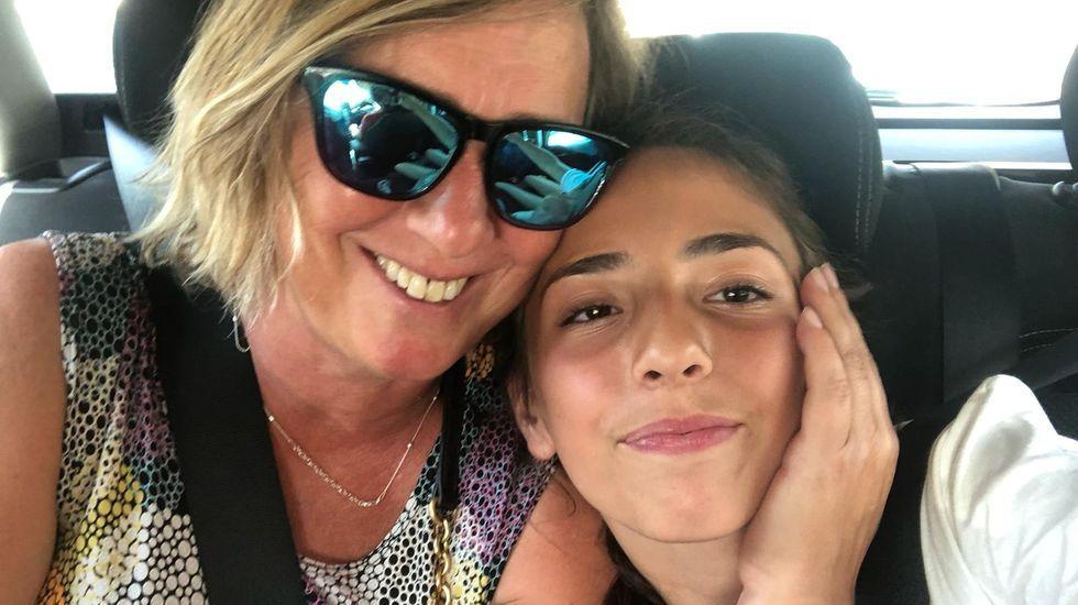 Isabel Fidalgo y su hija Marta