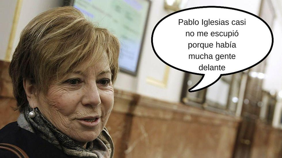 Celia  Villalobos, un día después del encontronazo con Pablo Iglesias