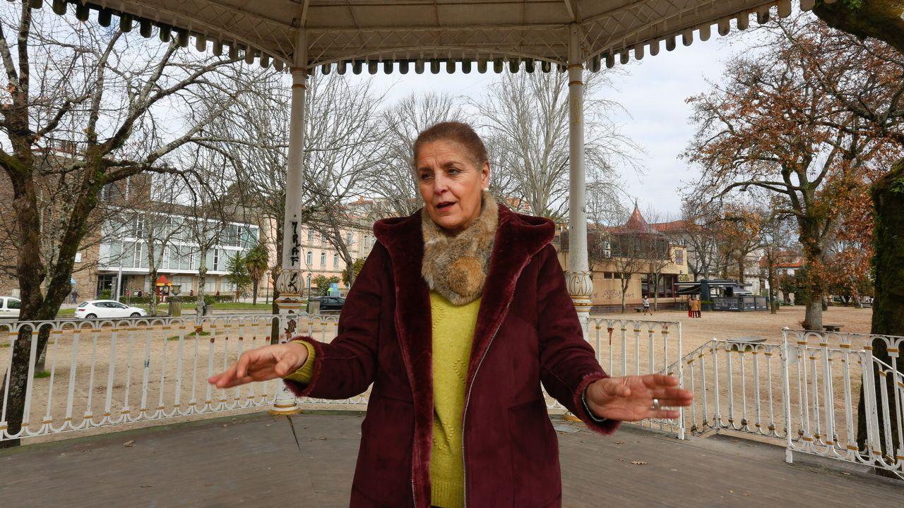 La asturiana María Pérez Presa en Polonia