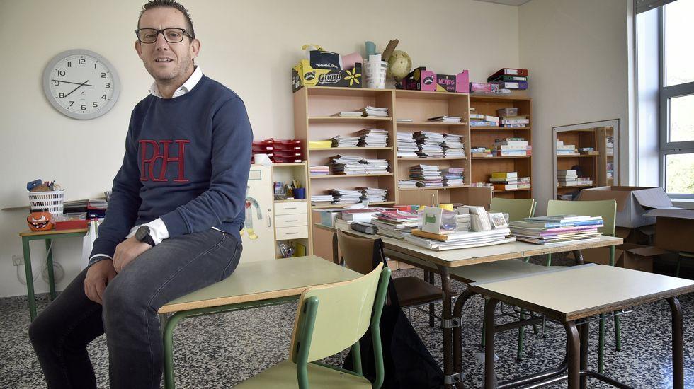 Imagen de archivo de Francisco Lires, presidente de los directivos de colegios públicos de primaria de Galicia