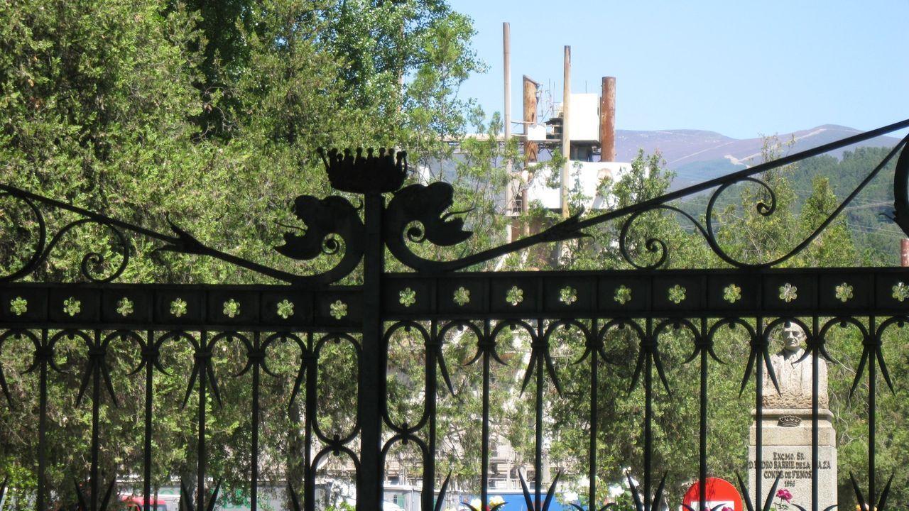 Imagen de la fábrica de Cedie, en O Barco, en el 2009