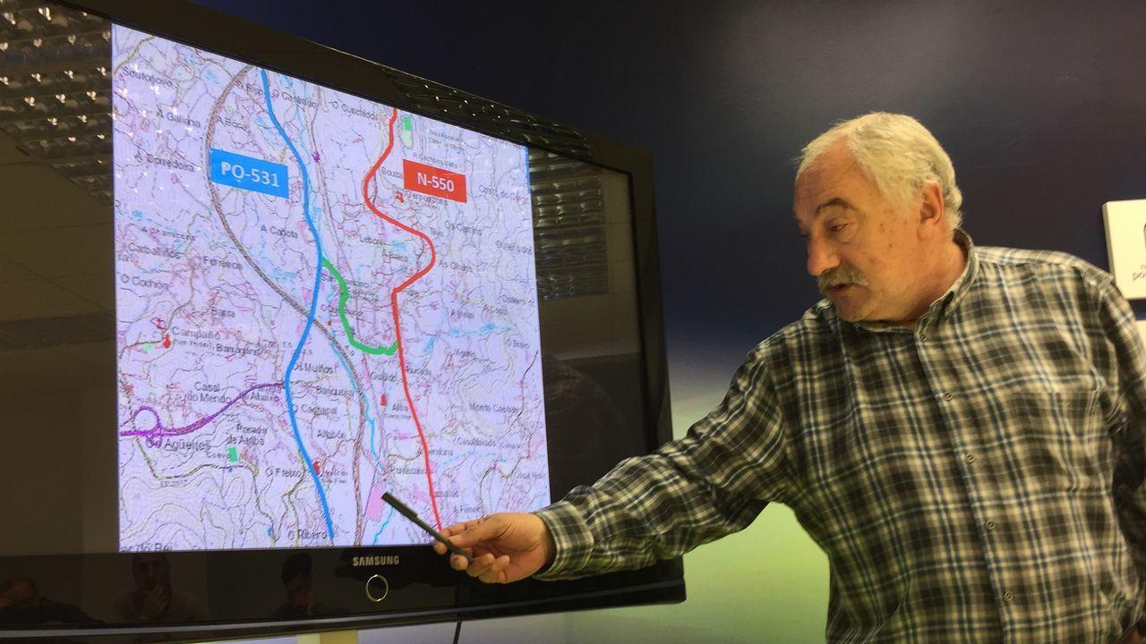 La autovía de Santiago a Lavacolla clama por una reforma