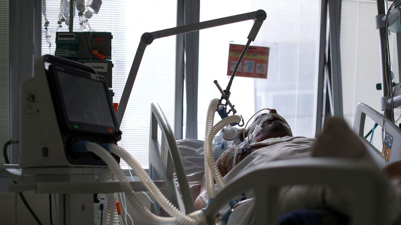 Las ucis en la mayor parte del país están ya al borde del colapso