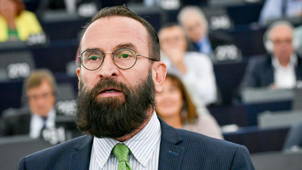 El eurodiputado húngaro József Szájer, miembro del partido Fidesz del primer ministro Víktor Orbán