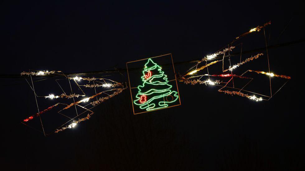 NAVIDAD EN CELANOVA.Verín presume de alumbrado navideño