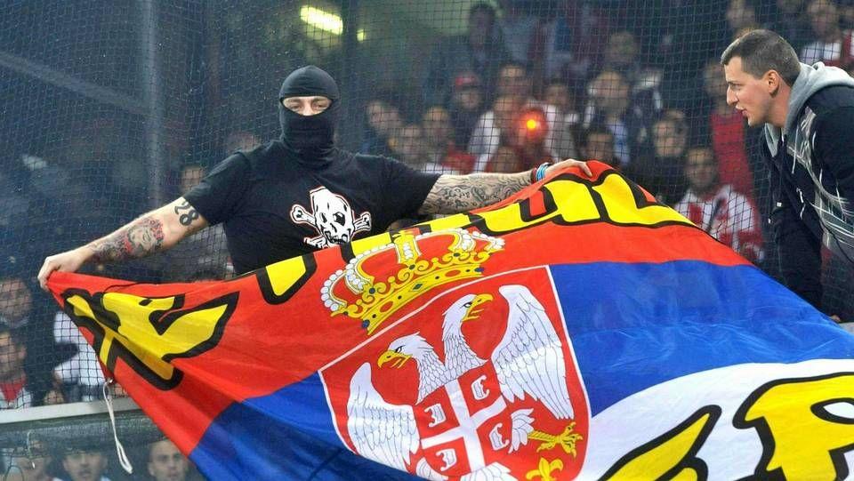 Violencia en el Serbia-Albania.Bogdanov, en el Italia-Serbia del 2010
