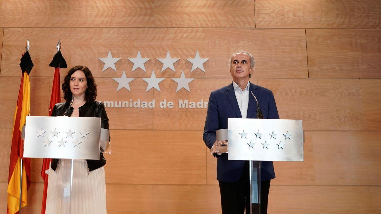 «¿Me estás amenazando?».El ministro de Fomento, José Luis Ábalos, durante la rueda de prensa del domingo