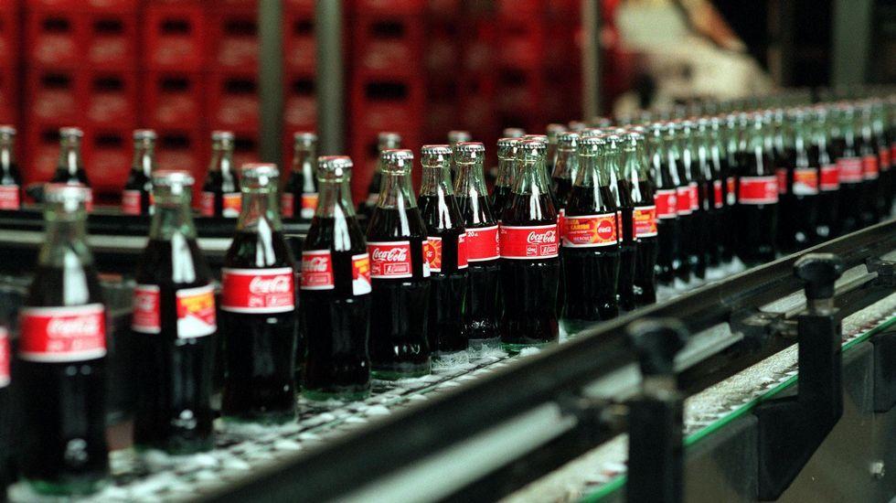 #TasteTheFeeling.Caballos y burros ocupan actualmente las parcelas del gigante de bebidas.