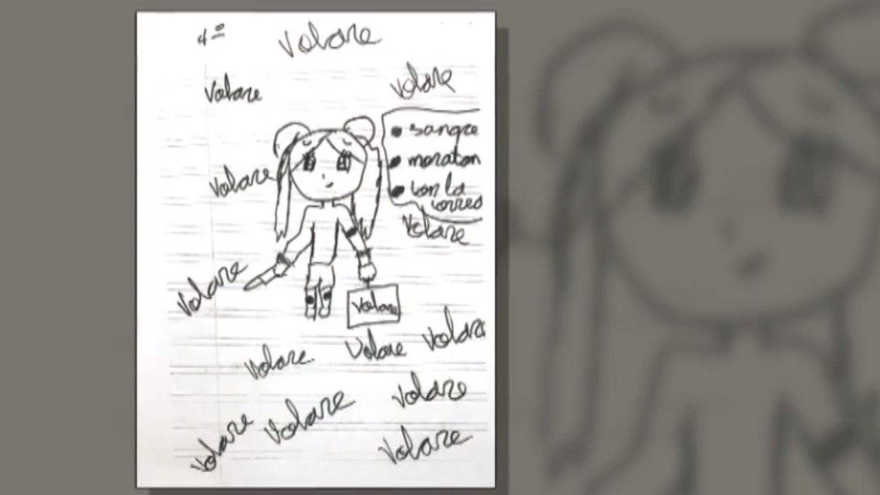 Un dibujo escolar de una niña de 11 años de Marbella demuestra los malos tratos de su madre