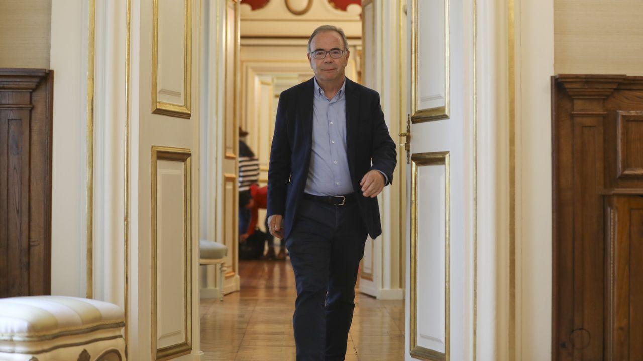 Exalcaldes que ahora son el azote de sus sucesores.Ángel Mato, actual alcalde de Ferrol por el PSOE