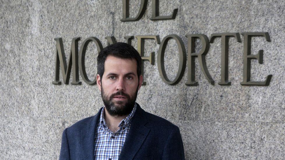 Iván Sanz, gerente del hospital comarcal y uno de los responsables del estudio premiado