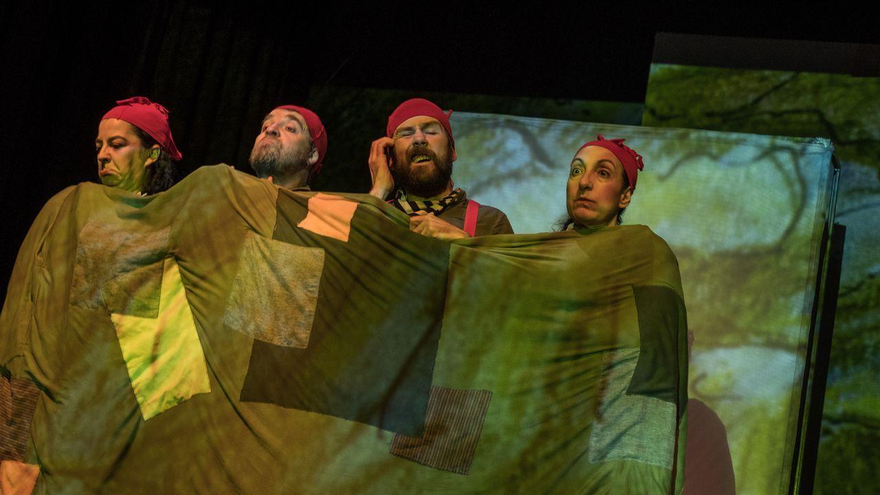 «A lingua das bolboretas», de Sarabela Teatro