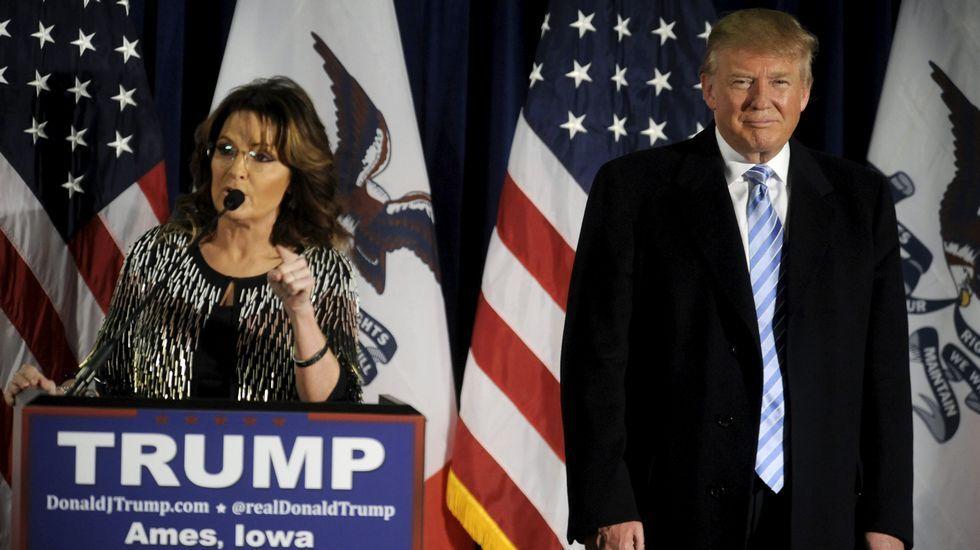 El primer encuentro entre Donald Trump y Barack Obama, en streaming.Sarah Palin apoya a Donald Trump