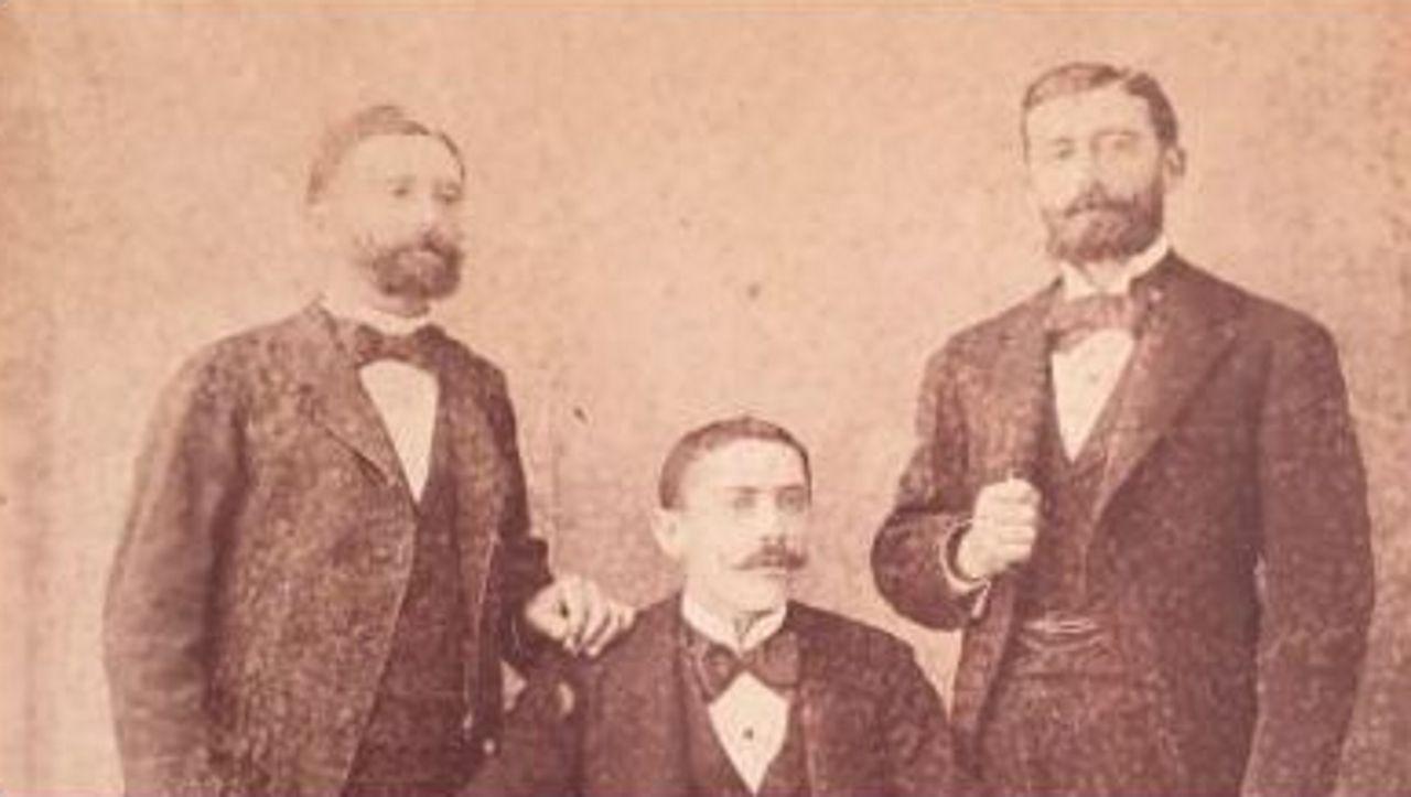 José Benito, Ramón y Balbino Lage en Santiago de Cuba