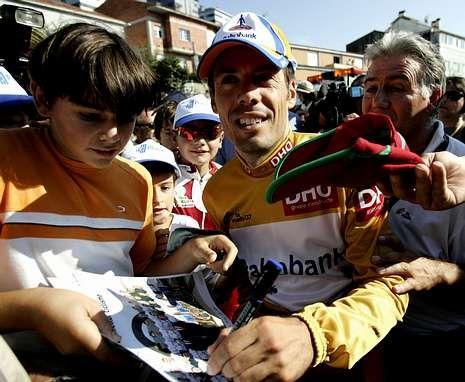 <span lang= es-es >La última visita</span>. El entorno de Salgueiriños fue el lugar escogido por la Vuelta en el 2007 para la meta de la etapa. El ganador de aquella jornada fue el cántabro Óscar Freire, del Rabobank.