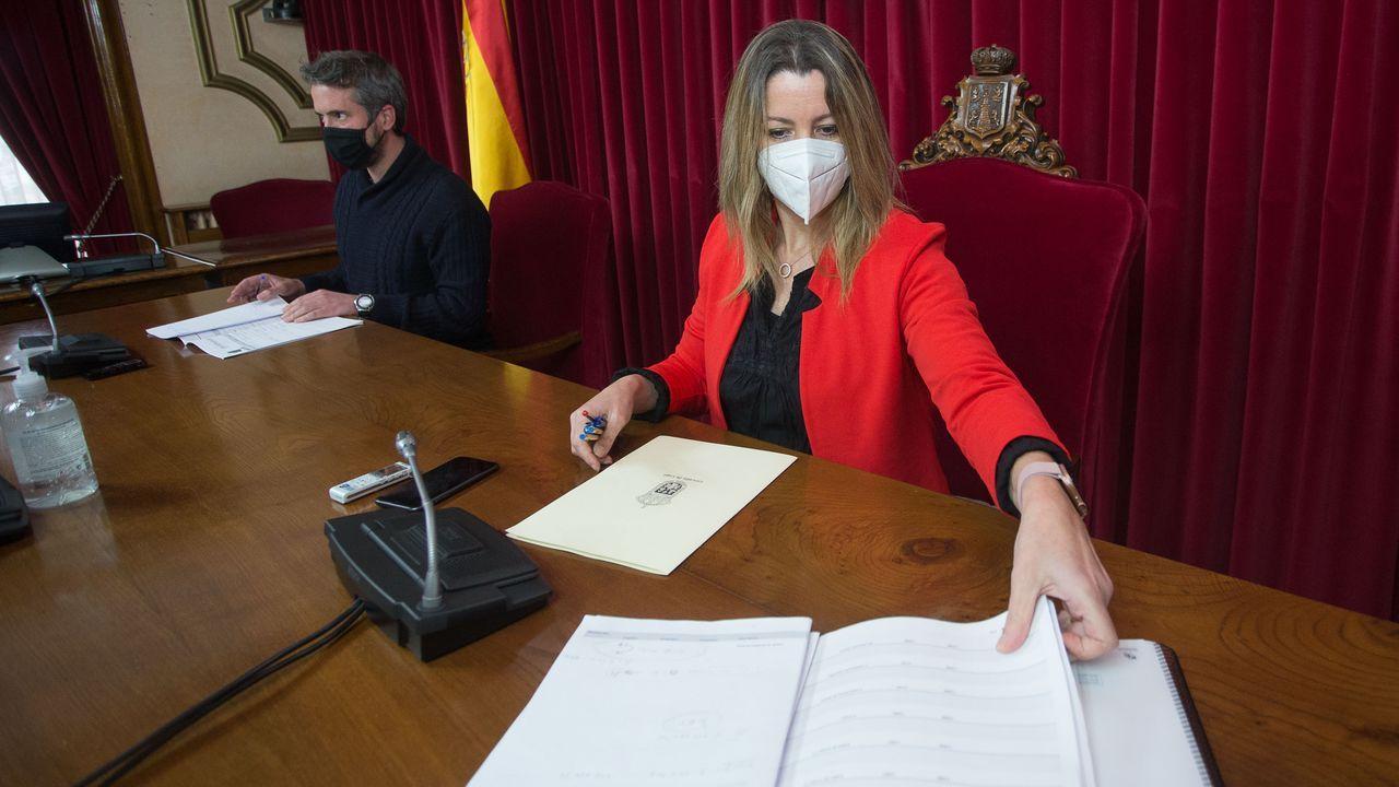 Méndez y Arroxo presentaron los presupuestos del 2021