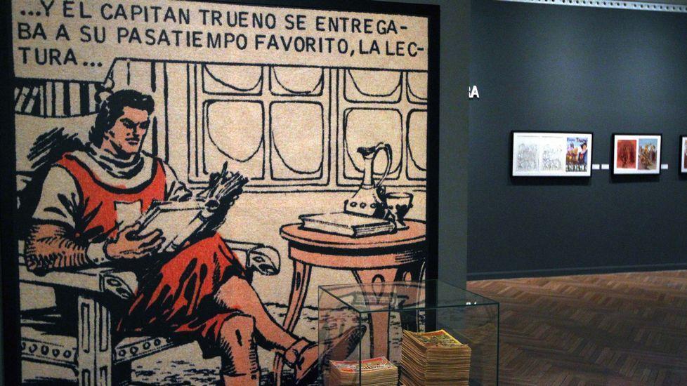 Exposición sobre Cervantes y el «Quijote» en el Museo do Gravado de Artes de Ribeira